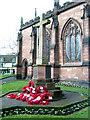 SJ7419 : War Memorial Newport Shropshire by Gordon Cragg