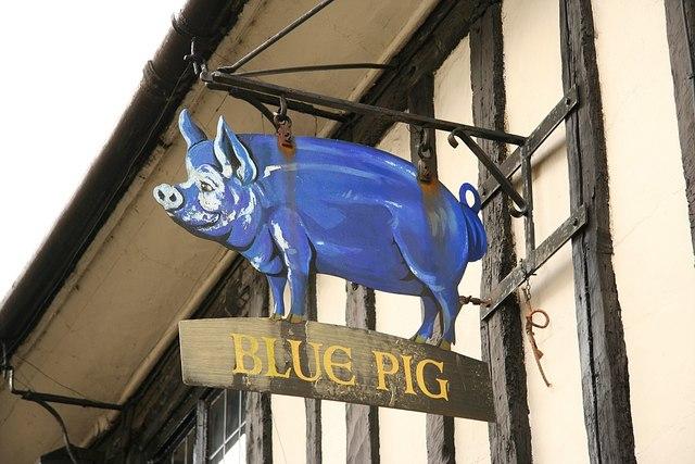 Blue Pig Inn Grantham Food Menu