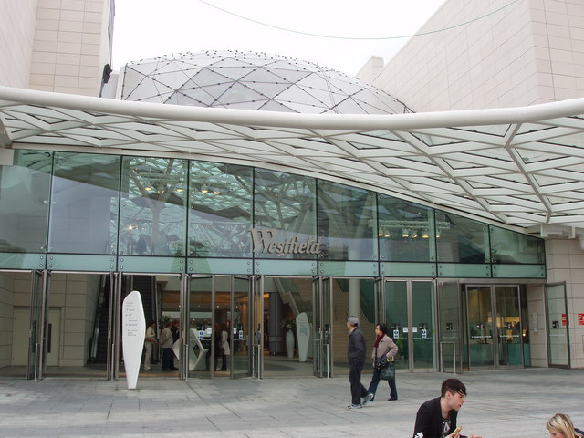 Main pedestrian entrance to Westfield