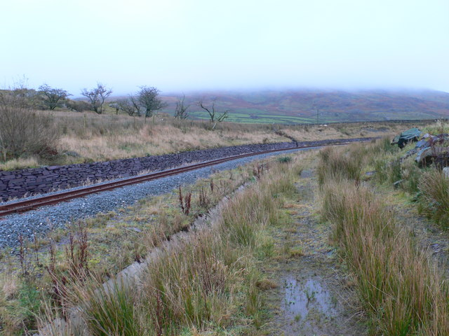 Welsh Highland Railway near Pitt's Head