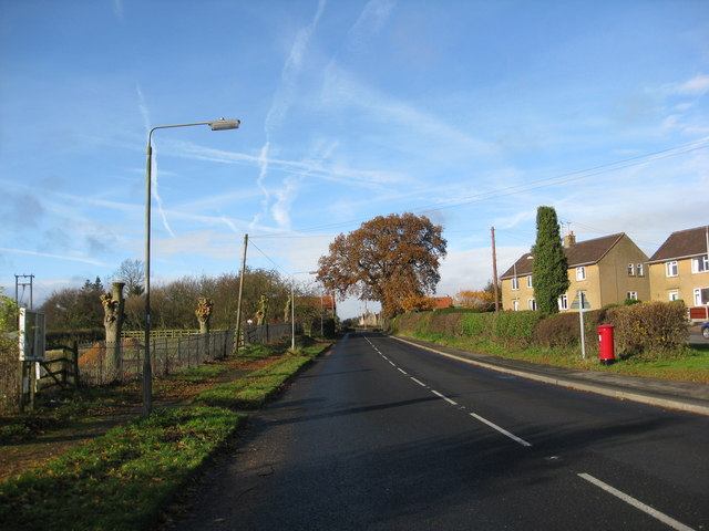 Cuckney - Creswell Road (A616)