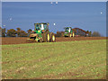 TA0115 : Cultivating near Bonby Top Farm : Week 46