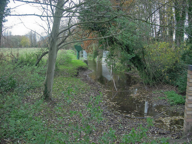 Gauging station on New Cut