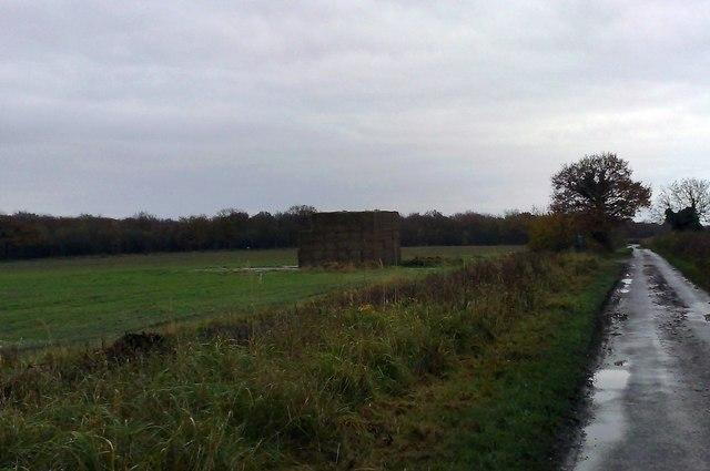 Haystack near Lillingstone Lovell