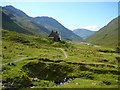NH0017 : Glenlicht House at the head of Gleann Lichd by Colin Park