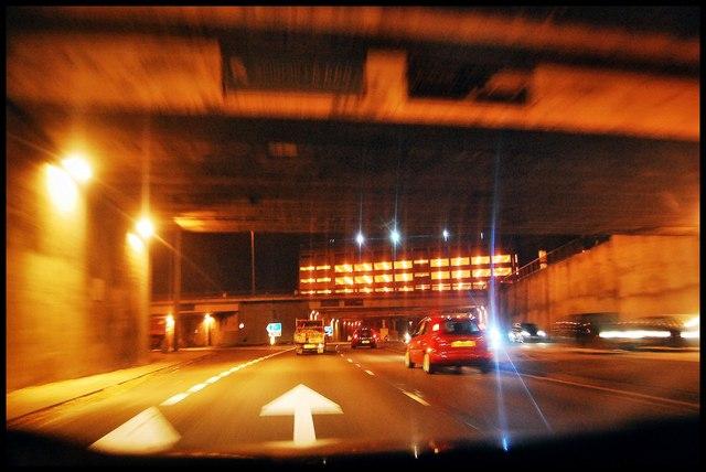 Leeds Inner ring road tunnels