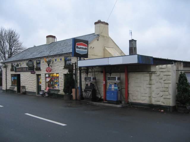 Gas Station Near Ne >> Burmah Petrol Station Carnew © Tom Nolan :: Geograph Ireland