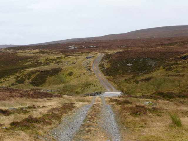 The road to Orrin Dam