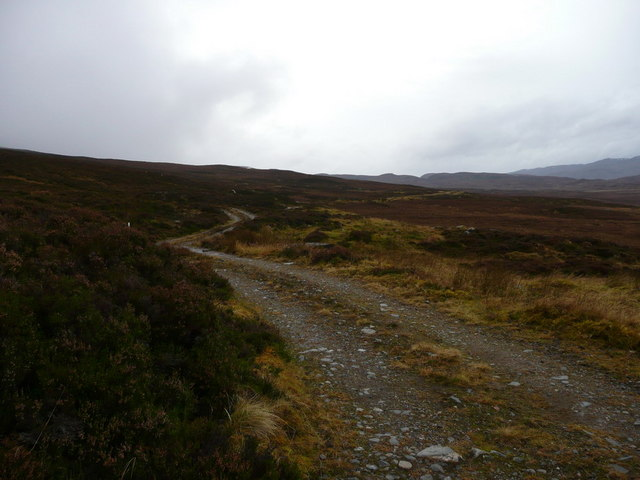 The road to Orrin Reservoir