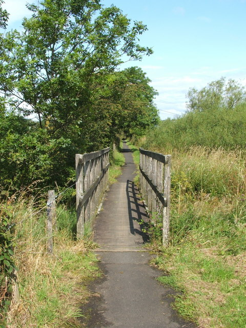 Footbridge on Cycle Route 7