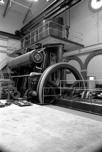 Steam pumping engine, Langford Pumping Station