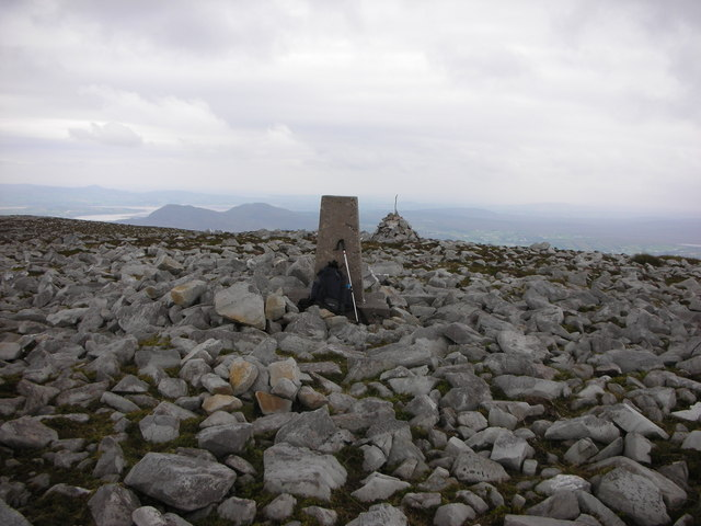 "Donegal. ""Raghtin More Summit and Triangulation Pillar"""