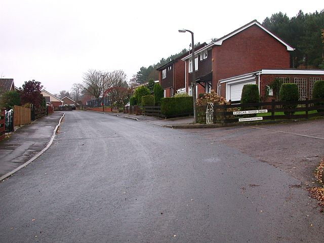 Linegar Wood Road junction, Ruspidge, Forest of Dean