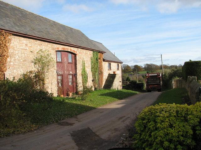 Converted barn at Sedbury Farm