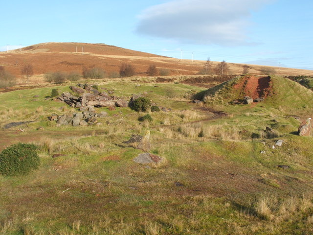 The former Fairy Knowe Quarry