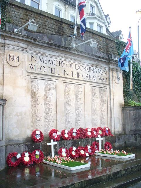 Dorking War Memorial