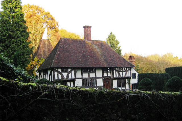 Wealden Hall House at Elmstone Hole Farmhouse, Elmstone Hole Road, Lenham, Kent