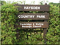 TQ5745 : Haysden Country Park by Nigel Chadwick