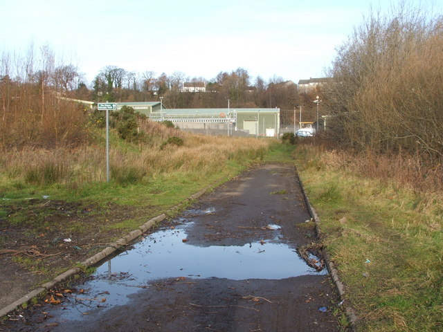 The Shore Circular Path - at a sewage works