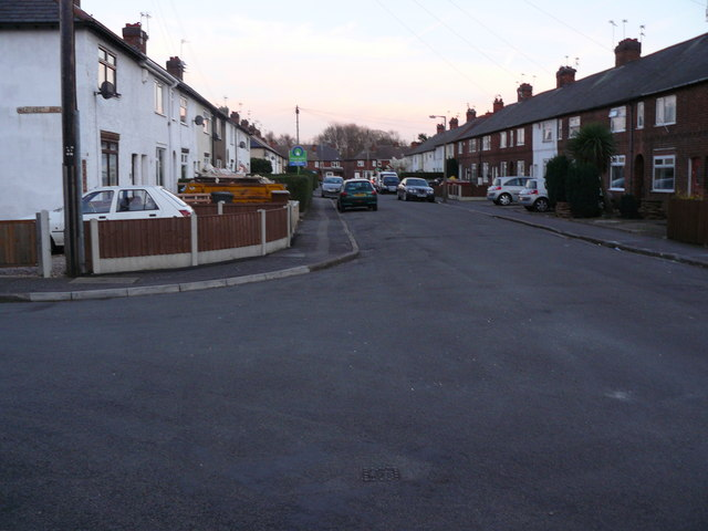 Landsdown Grove from the corner of Margaret Ave Long Eaton