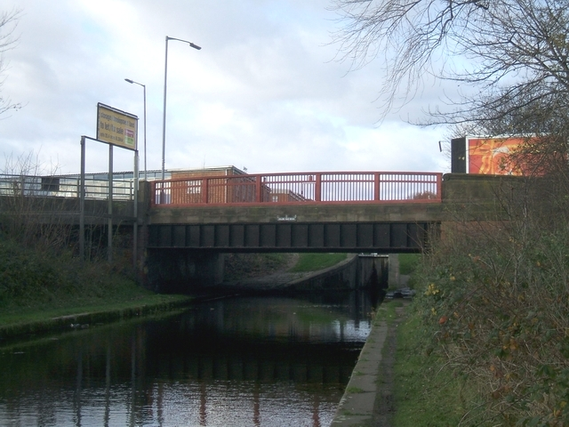 Tame Valley Canal - College Road Bridge
