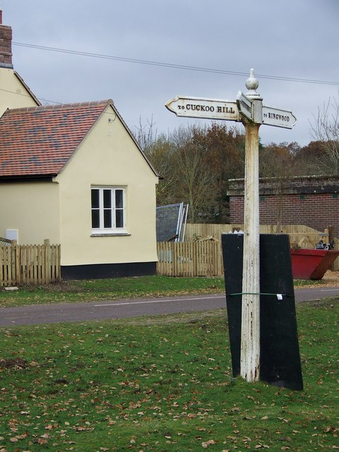 Sign, South Gorley