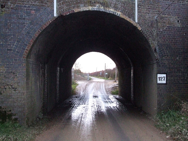 Site of Great Train Robbery - Bridego Bridge close-up
