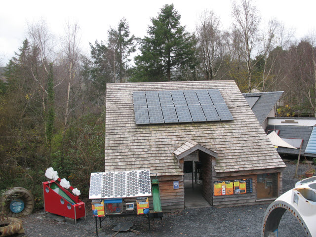 Solar Power demonstration house