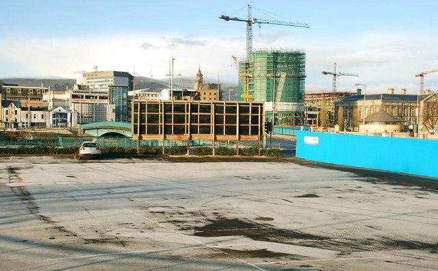 Station Street car park, Belfast