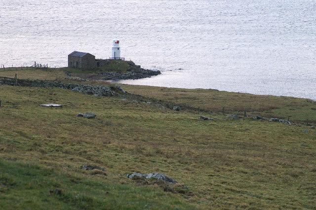 Firths Voe Lighthouse, Mossbank