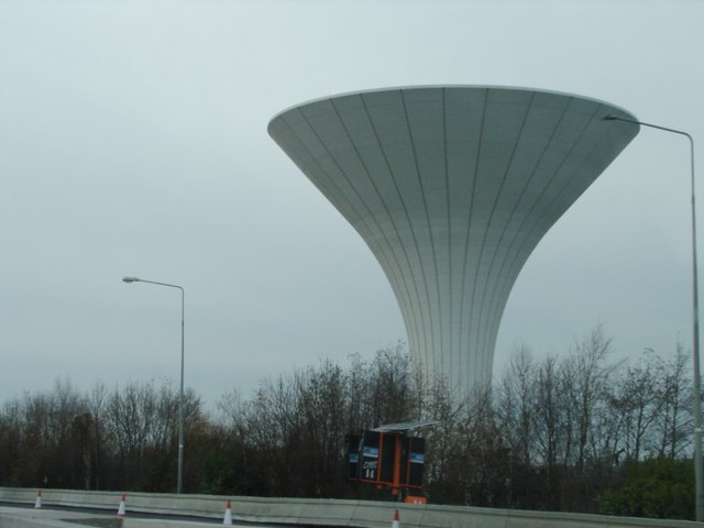 Water Tower Near M50 Ian Paterson Cc By Sa 2 0 Geograph Ireland