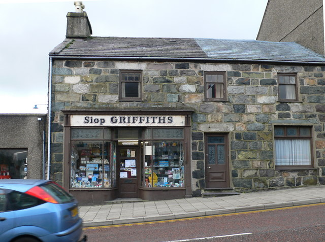 Muriau stores penygroes eirian evans geograph for British house store