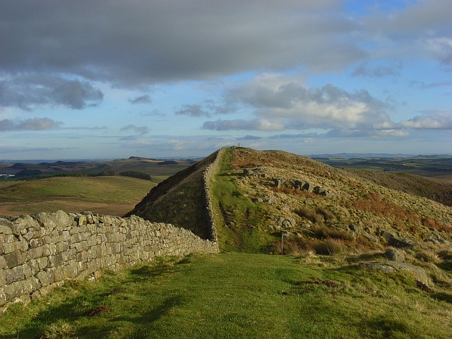 Hadrian's Wall at Winshields