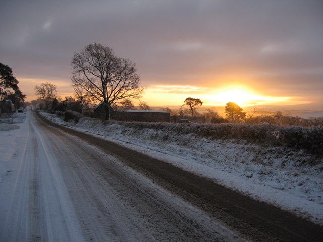 Sunrise Near Longrigg