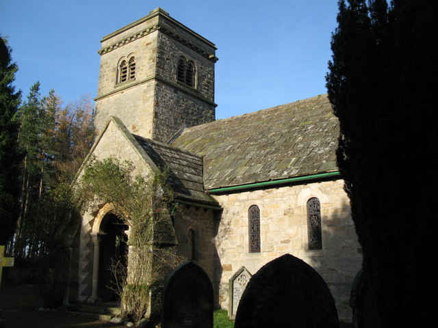 Church of St John, Healey