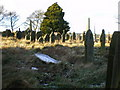 SE0629 : Mount Zion Methodist Church, Upper Brockholes, Graveyard by Alexander P Kapp