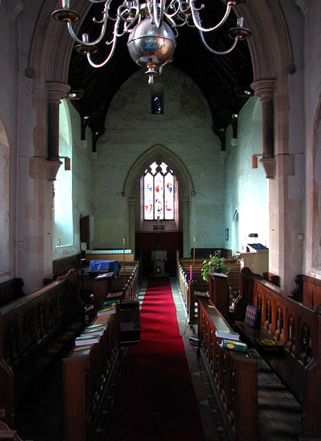 All Saints Church - view west