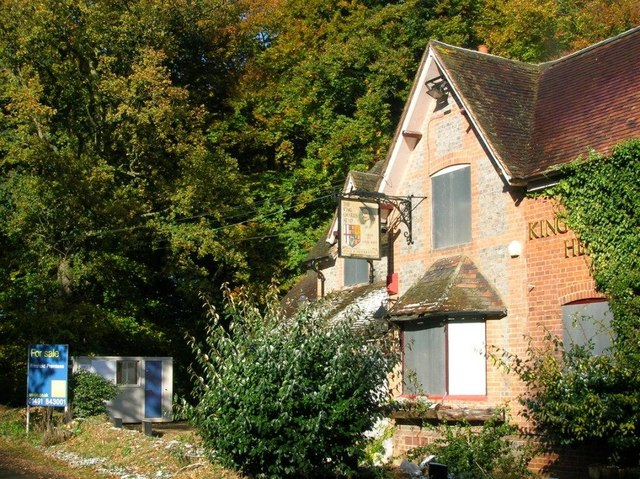 King Charles Head public house, Goring Heath