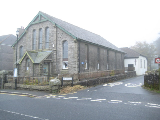 Princetown: Former Methodist Chapel and current Church