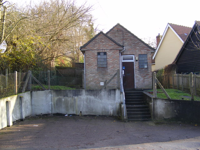 Badingham Telephone Exchange