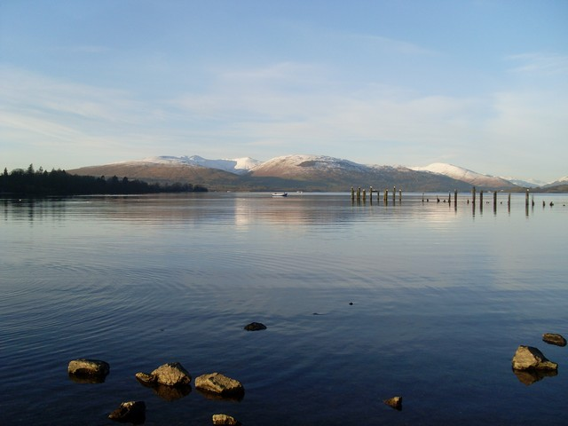 Loch Lomond in the winter