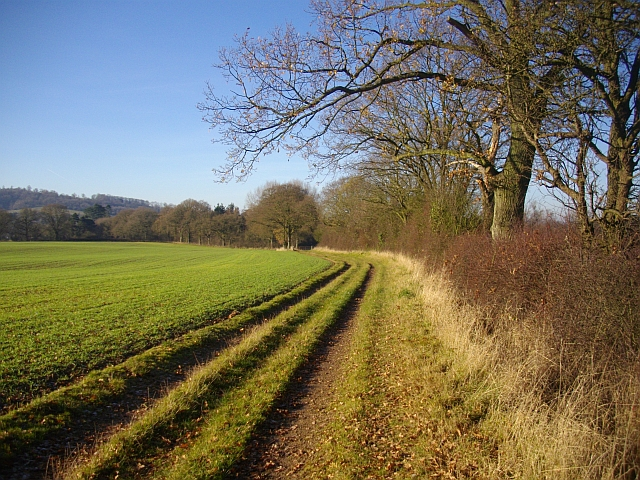 Footpath to Colwall Church