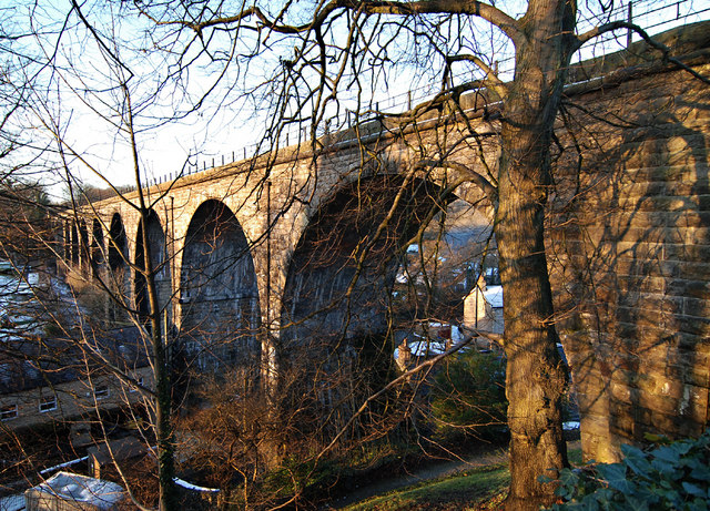 The Viaduct at Ingleton