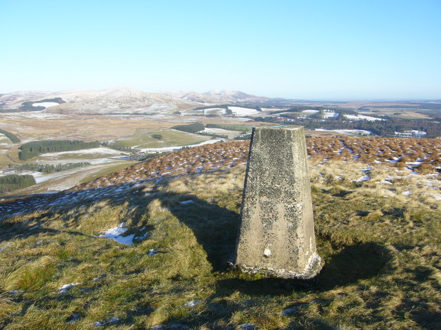Mendick Hill trig