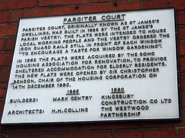 Pargiter Court, informative notice