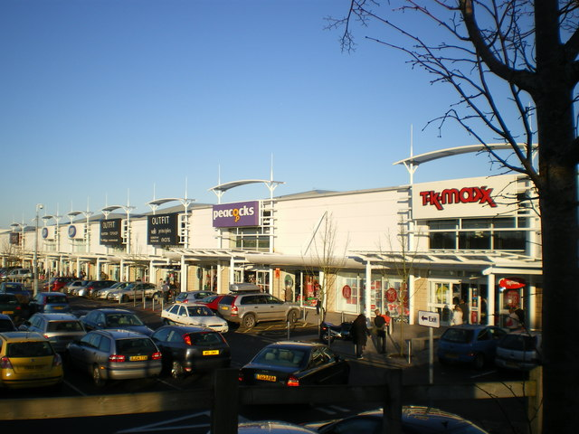 telford forge retail park richard law cc by sa 2 0. Black Bedroom Furniture Sets. Home Design Ideas
