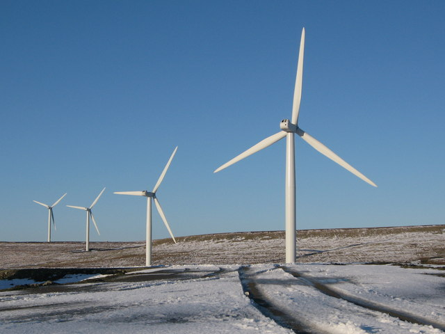Wind Turbines on Scout Moor
