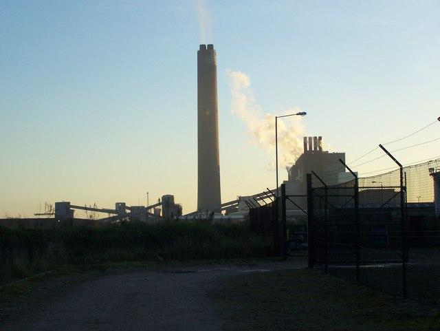 Chimney of Kingsnorth Power Station