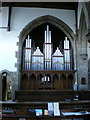 SD9126 : St Michael and All Angels, The Parish Church of Cornholme, Organ by Alexander P Kapp
