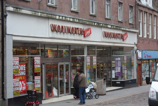 Woolworths in Peterhead